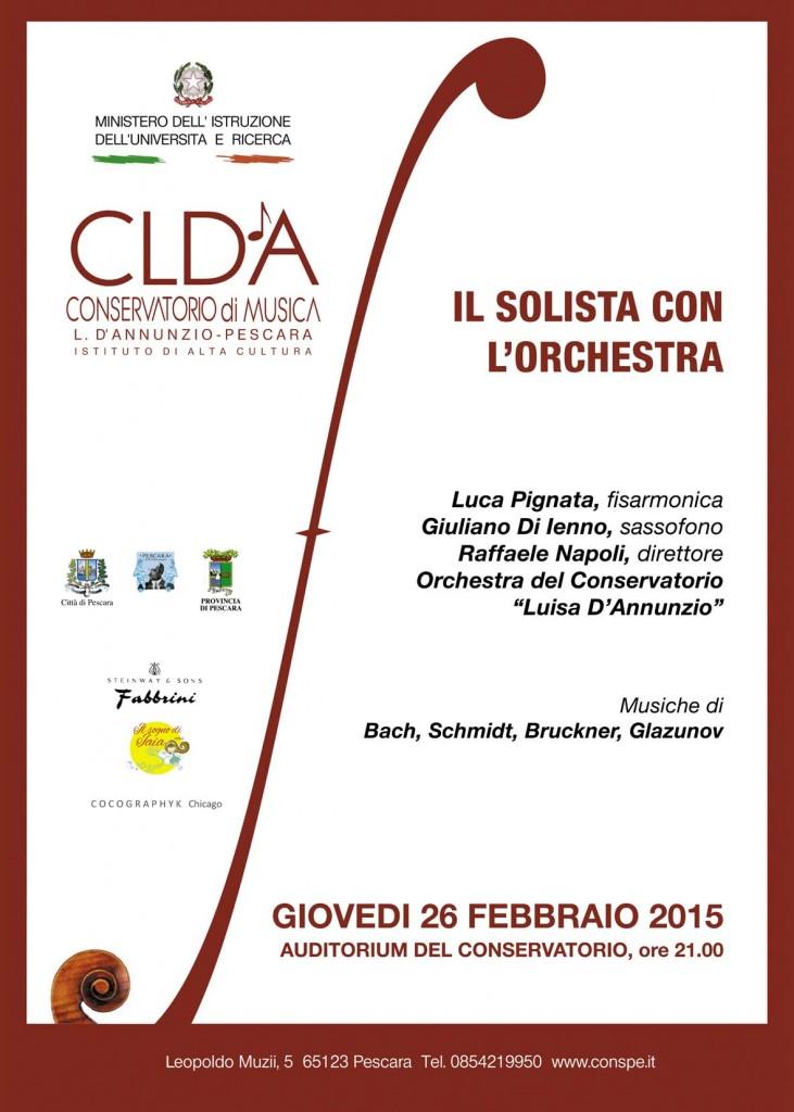 Concerto Pescara 2015 Schmidt Pignata orchestra manifesto